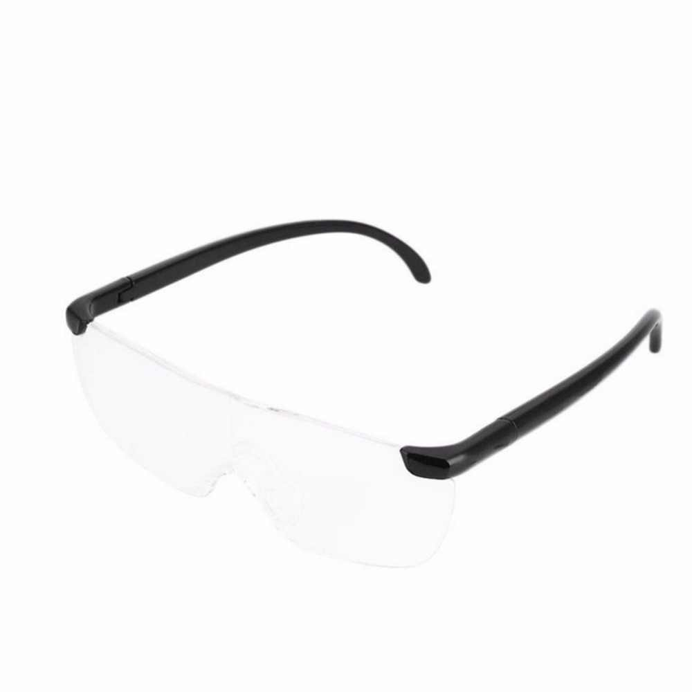 1.6 times Magnifying Glass Reading Glasses Big 250 Degree Vision Magnification Presbyopic Glasses Magnifier Eyewear