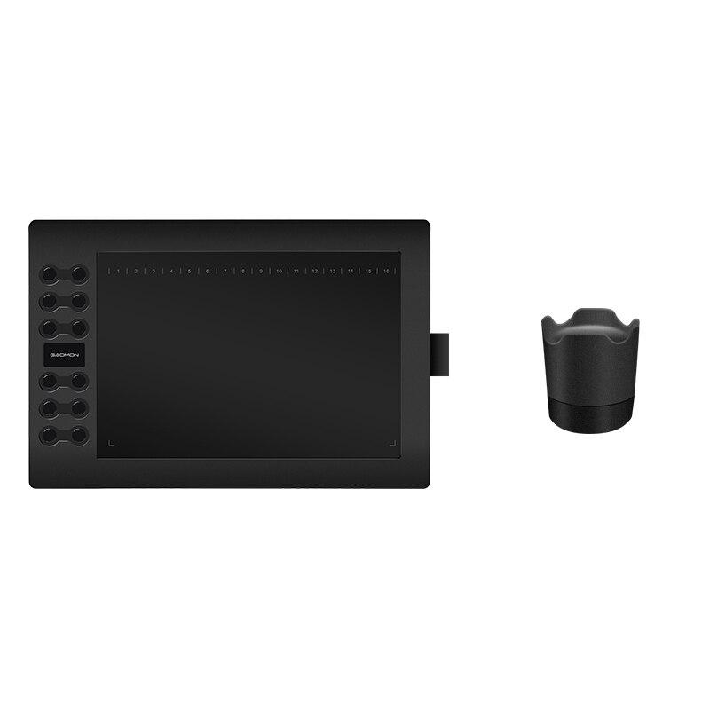GAOMON M106K 12 Express Chiavi Pen Tablet Digital Graphic Board per Disegnare con la Penna Titolare