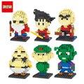 10 Estilo de Bloco de Construção de Brinquedos Figuras de Ação De Dragon Ball Z Son Goku Mestre Kame Piccolo Vegeta Frieza Toy Anime Oolong Karrin