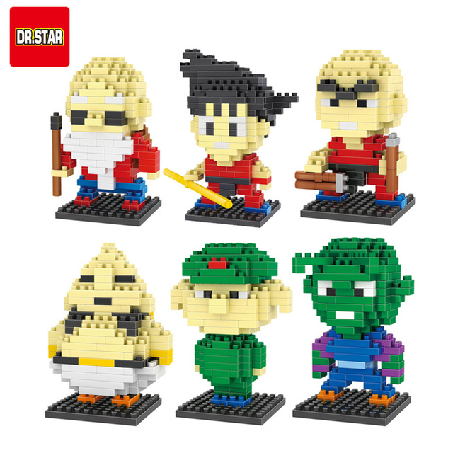Dragon Ball Z Lego Style Figures