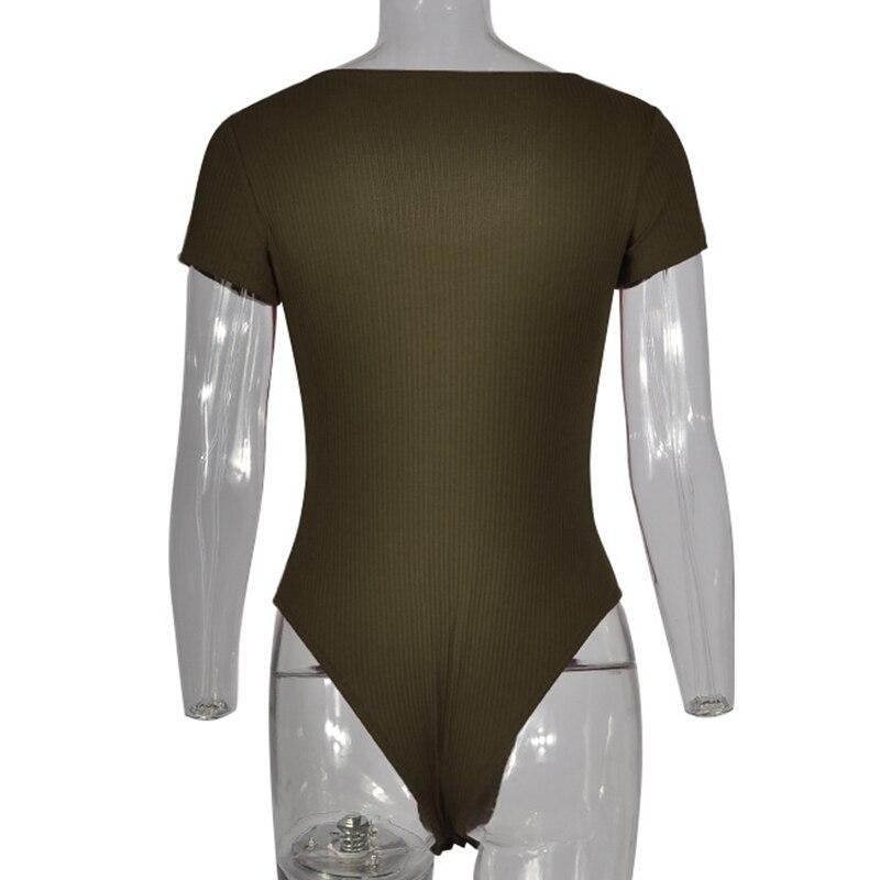 Forefair Bodysuit Sexy Bodycon (10)