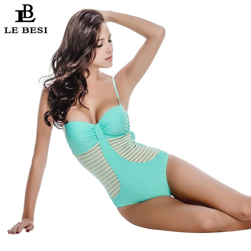2017 Жаңа Bodysuit Sexy 1 One Piece Swimsuit - Спорттық киім мен керек-жарақтар - фото 5