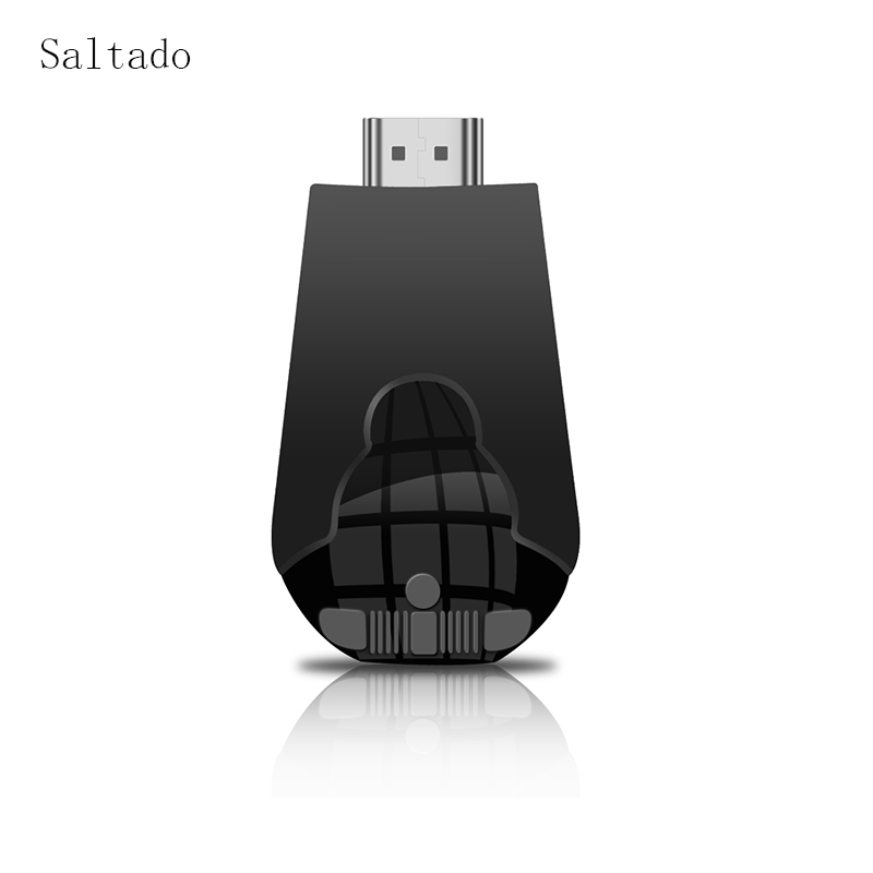 Saltado AnyCast K4 Sans Fil WiFi Affichage Dongle Récepteur 1080 P Interface TVStick DLNA Airplay Miracast pour Téléphones Intelligents Tablet