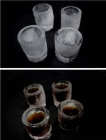 Форма для льда в виде рюмки