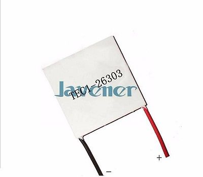 60X50mm TEC1-26303 Heatsink Thermoelectric Cooler Peltier Cooling Plate 24V 3A Refrigeration Module