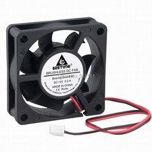 20Pcs Gdstime 60mm 6cm 60x60x20mm Ball Bearing 6020 12V 2Pin Brushless DC Cooling Fan стоимость