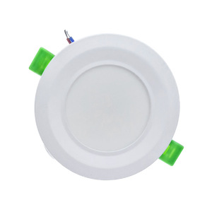 Image 2 - Freeshipping LED 다운 라이트 6W 12W 18W 라운드 recessed 램프 85 260V LED 전구 침실 주방 실내 LED 자리 조명