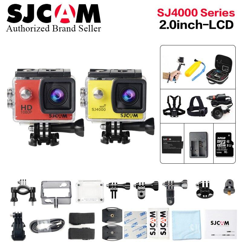 D'origine SJCAM SJ4000/SJ 4000 WIFI 2.0 caméra d'action full hd 1080 p étanche caméra de sport Plongée 30 Étanche beter gopro cam