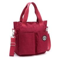 JIN QIAO ER Top handle Bag Shoulder Handbags Women Messenger Bags Designer Nylon Female Beach Casual Tote Purse Femme Bolsa