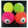 23*20 СМ резиновые большие глаза странные vent вентиляции мяч игрушки вдувания куклы надувные декомпрессии игрушки