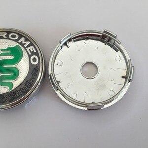 4 шт. Alfa Romeo 56 мм 60 мм Центральная втулка колеса автомобиля Кепки эмблемы колеса пыле доказательство наклейка для Mito 147 156 159 166 Giulietta паук Наклейки на автомобиль      АлиЭкспресс