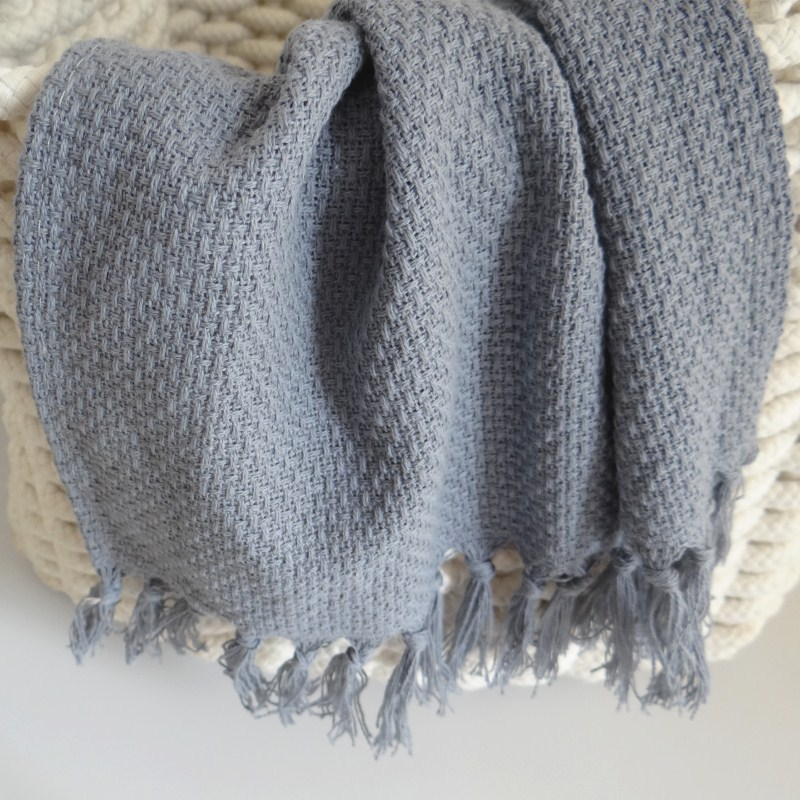 2kom Set francuskog stila resice obrub pamuk pleteni stol Placemat - Tekstil za kućanstvo - Foto 3