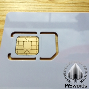 Image 3 - 5PCS/LOT Java jcop21 J2A040 JCOP 21 with Hi co Mag 2FF standard 3FF Micro Sim Size Comobo IC Connect Smart Card with TK Value