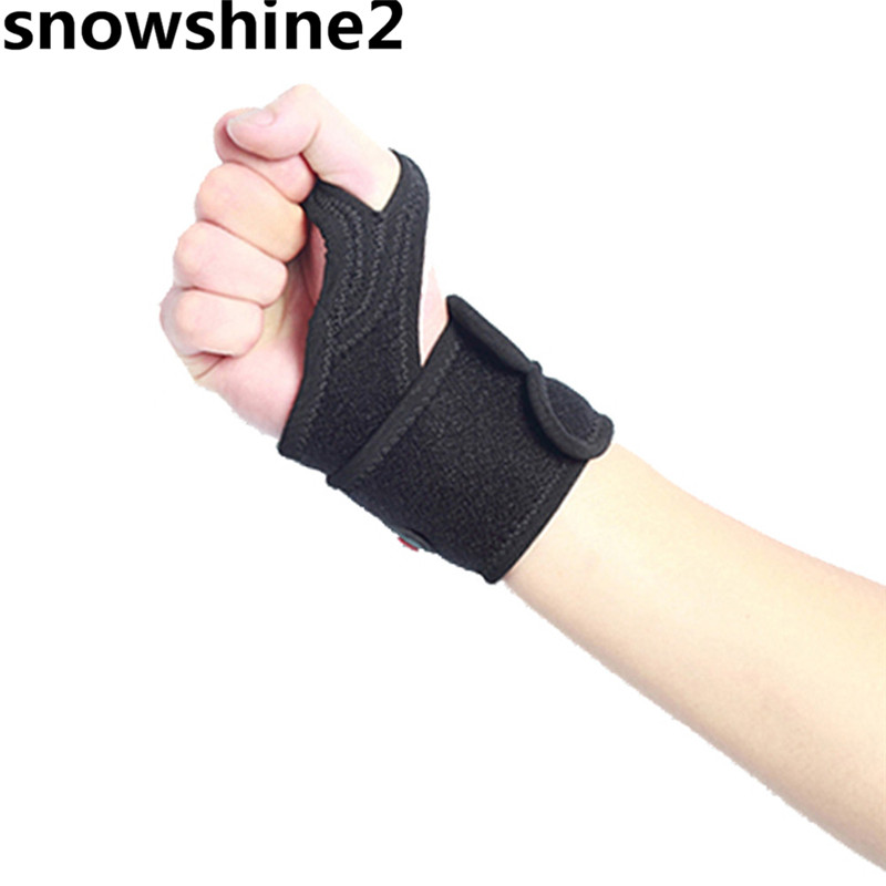 snowshine2 #3001 1 PCS Unisex Wristband Arm Band Finger Lock Basketball Tennis Outdoor Sports Protector wholesale