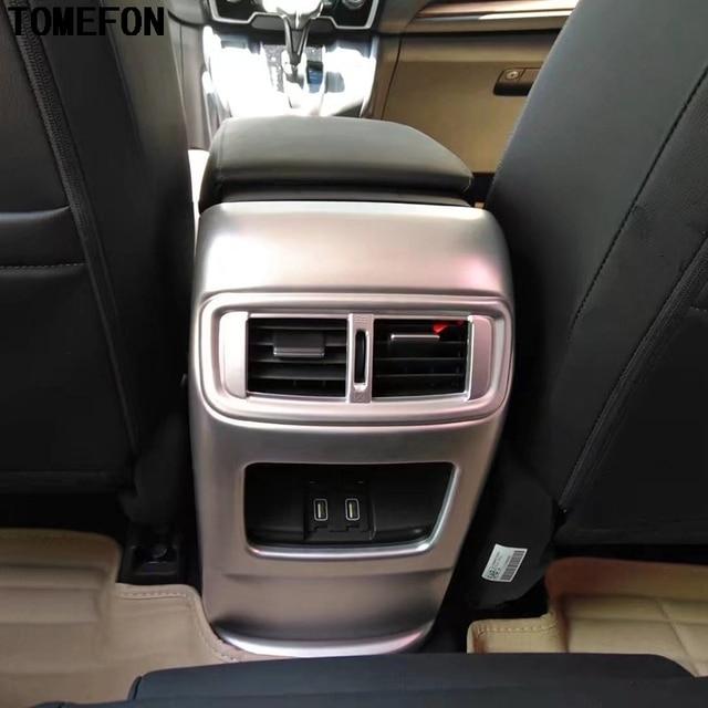 Voor Honda CRV CR V 2017 2018 ABS Carbon Fiber Verf Interieur ...