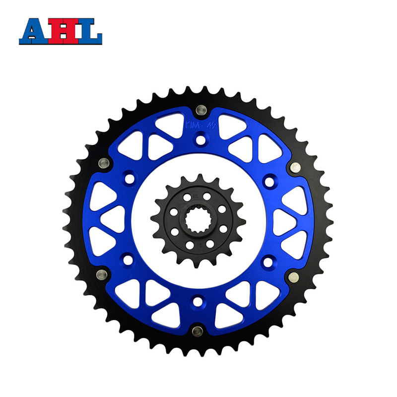 Motorcycle Parts 49-16 T Front & Rear Sprockets Kit for KTM 690 Enduro 2009-2010 / 690 R Enduro 2009-2013 Gear Fit 520 Chain стоимость