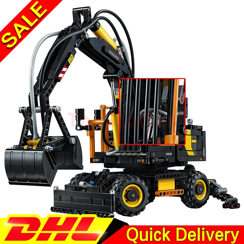 IN Stock LEPIN 20023 Technical Ultimate Kits Ew160e Excavator Educational Building Blocks Bricks legoings Toys Funny Model 42053 new technical excavator duplo toys large