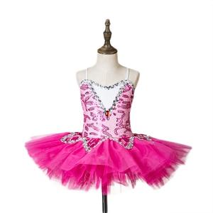 Image 4 - blue professional ballet tutu for girls kids sequin ballet tutu child dance costume for girls