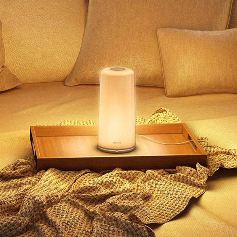 X PHILIPS Zhirui Smart LED light lamp Dimming Night Light Reading  Bedside Lamp WiFi Bluetooth Mi Home APP Control