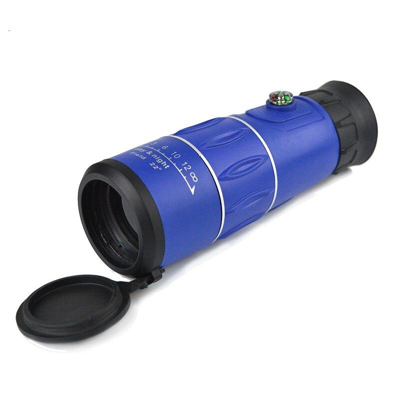 Image 2 - 26x52 Portable Handheld Monocular Telescope FMC Optical Len Green Film Coating 26x Magnification Zoom Outdoor HD Telescopio-in Monocular/Binoculars from Sports & Entertainment