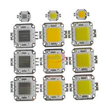 LED Chip High Power 10W-100W COB SMD LED Bead Cool Natuurlijke Warm Wit RGB 10-100 W Watt 1pcs high power led smd cob bulb chip 150w 200w 300w 500w natural cool warm white 150 200 300 500 w watt for outdoor light