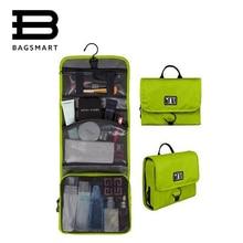 BAGSMART Wasserdichten Kulturbeutel Mit Aufhänger Kosmetische Verpackung Veranstalter Kulturbeutel Make-Up Tasche Pack Ihr Gepäck Koffer