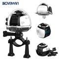 Sovawin 360 Graus Câmera VR 4 K De Vídeo Wi-fi Mini Panorama Panorâmica 2448*2448 HD Ação 30 m À Prova D' Água esportes Cam Condução 2017
