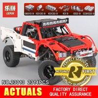 Lepin 23013 Genuine Technic MOC Series SUV Car Pickup Truck Bricks Model Building Kits Blocks Toys