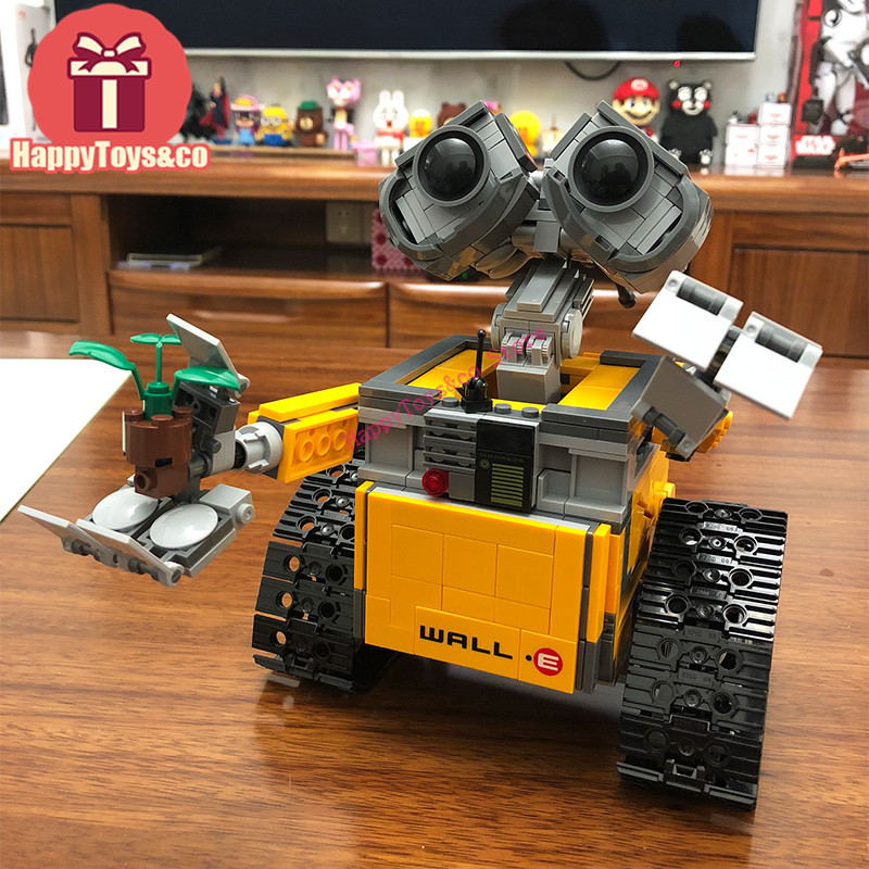 IN stock Movie series 21303 687Pcs WALL-E toys For Children DIY Gift Building Blocks Set Compatible Education Toy robot solar electronic building blocks children s electrical science and education diy toys christmas gift