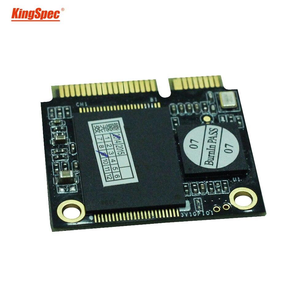 ACSC2M128mSH Kingspec mini pcie demi mSATA SSD 128 GB Module ssd disque dur à semi-conducteurs pour ordinateur portable tablette PC de haute qualité