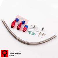 T3 T4 T70 T3 T4 T66 Oil Cooled TO4E Turbo Turbocharger Lines Turbo Oil Feed Return