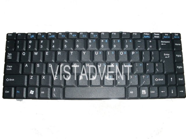 NEW US KEYBOARD FOR MSI MEGABOOK VR420 MS-1422,PR210 MS-1222,PR400 KEYBOARD