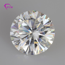 Incluye certificados, 1 Uds., 9mm, 3CT, Color EF + 1 Uds., 9mm, 3ct, Color D, corte brillante blanco, moissanita VVS, envío rápido