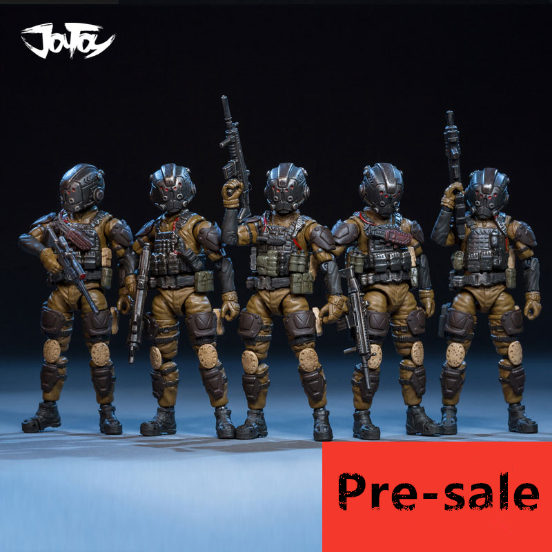 NEW JOY TOY 1:25 soldiers anime Figure soldiers The Old Fellows Corps (5pcs/lot) Holiday/Birthday Gift Free shipping RD023 joy toy 1 18 russian soldiers figure reengineering soldier wolf team model doll free shipping