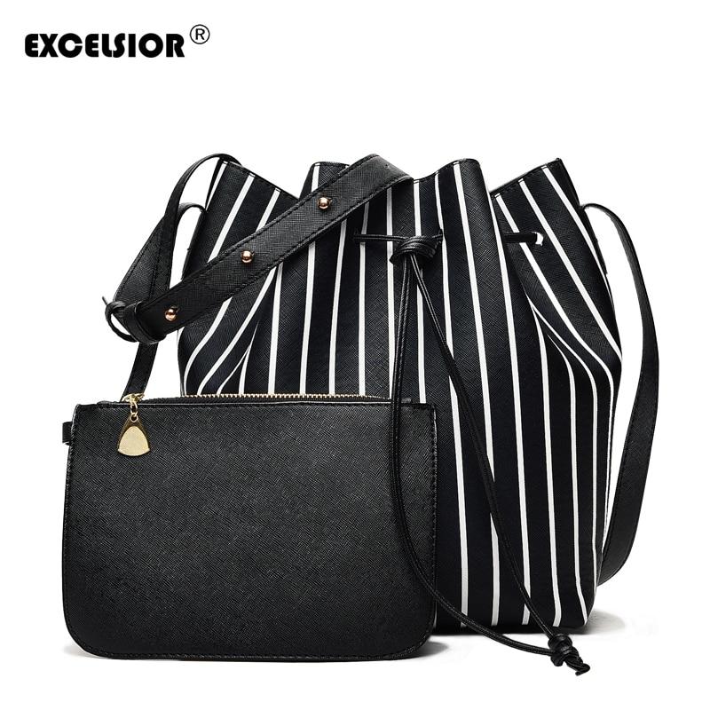 Women's Handbags PU Tote Bag Beach Bucket For Girls Handbags Bags Designer G2056