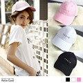 2016 nueva carta bordado gorra de béisbol sombrero lindo Japón y Corea Del Sur series Caps