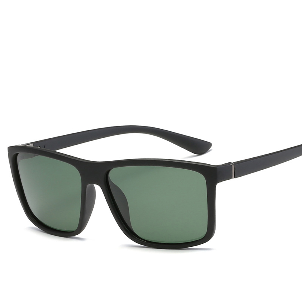 Unisex Retro Aluminum+TR90 Driving Glasses Polarized Lens Vintage Eyewear Accessories Sun for Men Women