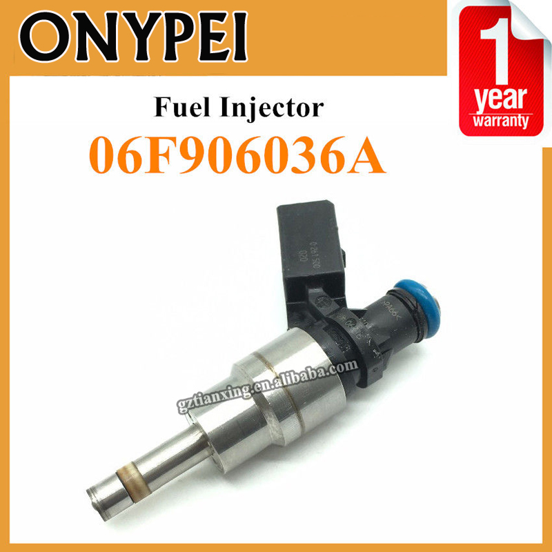 06F906036A Fuel Injector Nozzle For Audi A3 A4 TT VW Golf Rabbit Seat Leon 2.0L 100% original fuel injectors nozzle injection for vw audi skoda injector 03h 906 036 03h906036