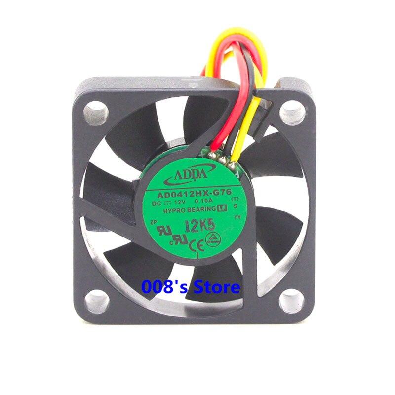 Новый радиатор охлаждения Cooler Вентилятор для AD0412HX-G76 40*40*10 мм 4010 4 см 40 мм DC 12 В 0.10A охлаждения silent 6000 об./мин. 6.7CFM