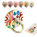 2x Colored Enamel Phone Stand, Finger Grip Ring Support for iPhone Samsung Xiaomi Huawei Oppo Vivo HTC iPad Smartphones Holder