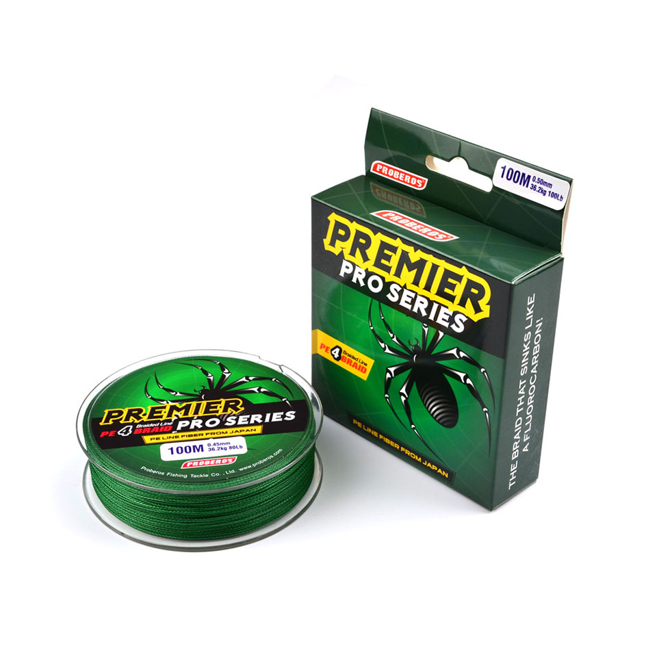 100M Super Strong Braided Fishing Line