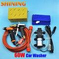 Arma de Metal carro lavadora de alta pressão máquina de lavagem de carro 60 W bomba de lavagem de carro 12 V Car Washer Cleaner portátil [ pacote de 4 ]