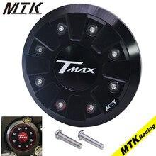 Фотография MTKRACING Motorcycle Accessoris T-MAX CNC Engine Stator Cover Protector For YAMAHA T max 530 2012-2015 Tmax500 2008-2010
