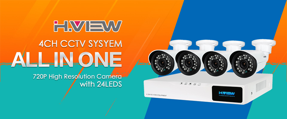 CCTV Security Camera System 4410X5AMC4 (1)