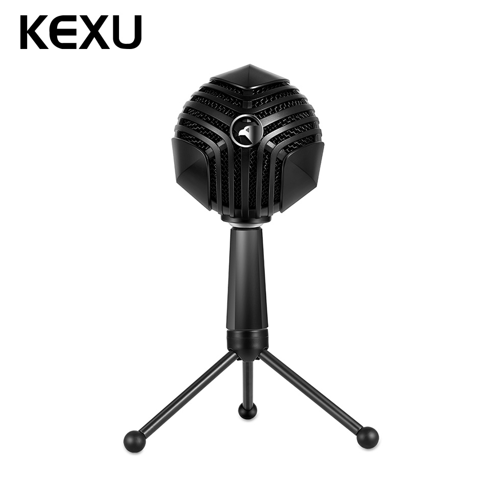 usb condenser microphone cardriod podcast microphone compatible with usb devices mobile phone. Black Bedroom Furniture Sets. Home Design Ideas
