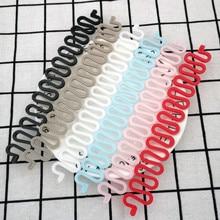 3pcs Women Hair Braid Tool Holder Clip Wave Hair