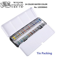 24colors tin packing