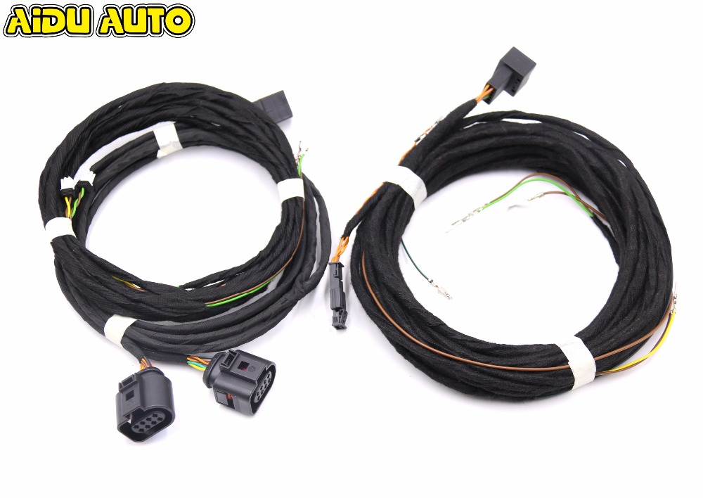 Side Assist Lane Change Blind spot upgrade Wire Cable Harness For VW Golf 7 MK7 VII