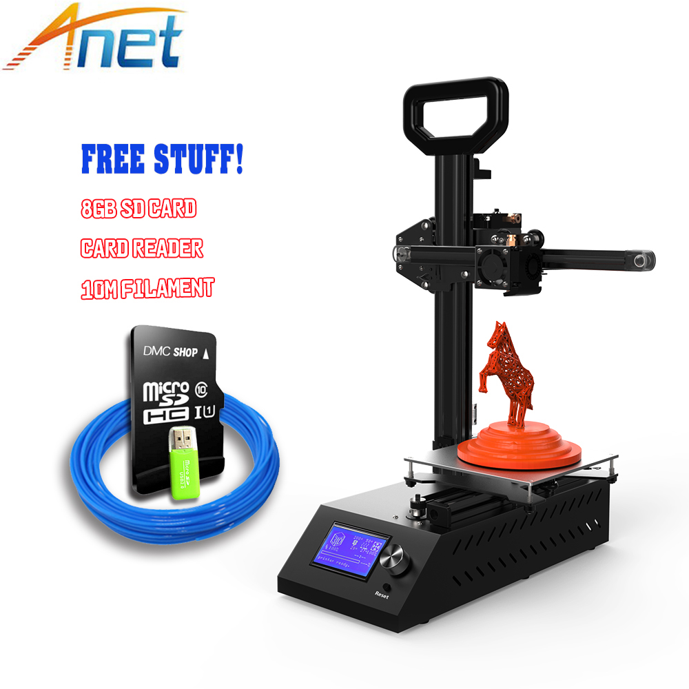 Anet A9 FDM 3D Printer Sheet Metal Aluminum Frame High Precision Reprap Desktop 3D drucke Printer