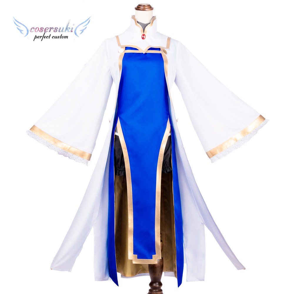 Goblin Slayer Priestess Cosplay Costumes Stage Performence Clothes , Perfect Custom for You !